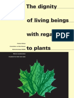 The Dignity of Living Beings with Regards to Plants