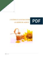 Controlul Sanitar Veterinar Al Mierii de Albine