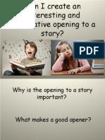 Priory Story Openers