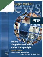 Single Market News - Future single market policy under the spotlight-2006