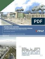Estudio Dinamica de Ciudades y Oportunidades de Renovacion Urbana