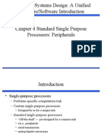Standard Single Purpose Processors