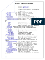 An A-Z Index of Windows PowerShell commands