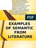 Definition of Semantic