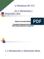 Capitulo 1 Introduccion a Vibraciones Respuesta Libre