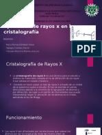 Cristalografia y Rayos X