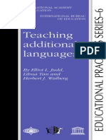Teaching Additional Languages - Elliot L Judd Et Al. - 2001