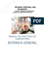 Manual Botánica General