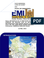 EVALUACIÓN DE PUENTES EN BOLIVIA