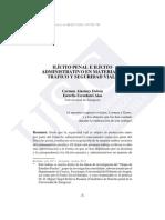 Ilícito Penal e Ilícito Administrativo en Materia de Tráfico y Seg. Vial