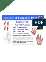 Basic Palmistry Talk by Master Chuan-SAFRA [Compatibility Mode]