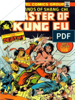 Shang Chi Master of Kung Fu 22 Vol 1