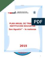 plan anual de gestion