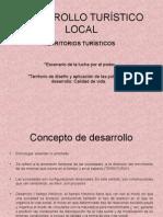 DESARROLLO TURÍSTICO LOCAL