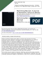 Brien - Rethinking Marxisism