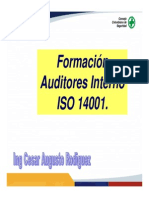 AUDITORES ISO 14001