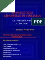 Antipsicoticos Disponibles en Venezuela