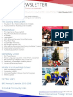 BIFS Newsletter, 2015-12-11 (English)