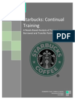 Starbucks Cont Training