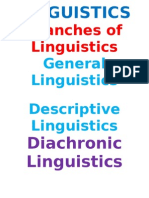 Nature & Difinition of Linguistics