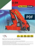 PK 48002- Ficha técnica de grúa PALFINGER