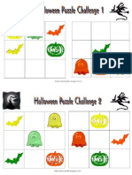 Halloween Puzzle Challenge 1-2.