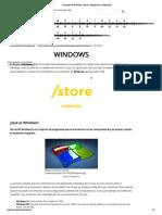 Concepto de Windows