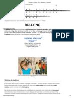 Concepto de Bullying