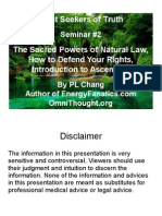 Seminar2 Sacred Powers of Natural Law How to Defend Your Rights Intro Ascension4