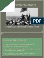 Diapositivas de Clases sobre Movimiento Obrero parte 1