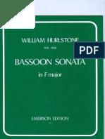 Sonata para Fagot en fa mayor