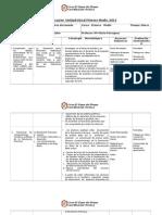 Planificación Unidad Inicial Primero Medio 2014