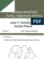 7 - Sistema Projetivo - Poliedros