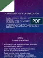 Administracion y Organizacion