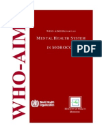 Morocco Who Aims Report