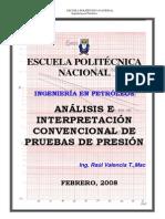 2. Análisis e Interpretación de Pruebas de Presión