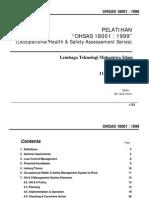 E-Book Pelatihan OHSAS