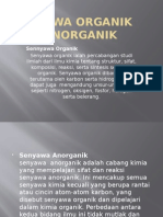 Senyawa Organik Dan Anorganik