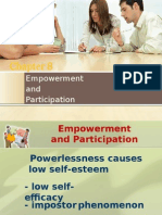 Empowerment and Participation