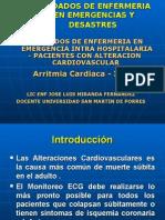 Cuidados de Enfermeria Alteraciones Cardiovasculares -Tema 4