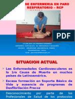 Cuidados de Enfermeria en Pcr - Rcp Bascio Tema 10