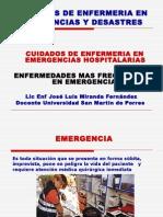 Emergencias Frecuentes en El Intra y Extra Hospitalario-tema 2