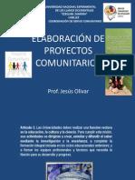 ELABORACION DE PROYECTOS COMUNITARIOS