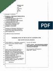 Fan v. Cascio/Sony/Estate Schedule