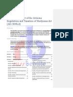 Hyperlinked Text of the Arizona Regulation and Taxation of Marijuana Act