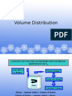 volume distribution