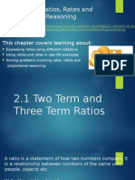 2 1 2 term and 3 term ratios