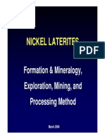 9-Early Magmatic & Nickel Laterite Deposit