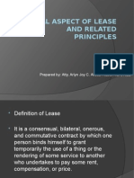1. Legal Aspect of Lease and Related Principles-Dec5