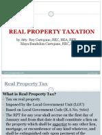Local Taxation RPT Cartojano2015